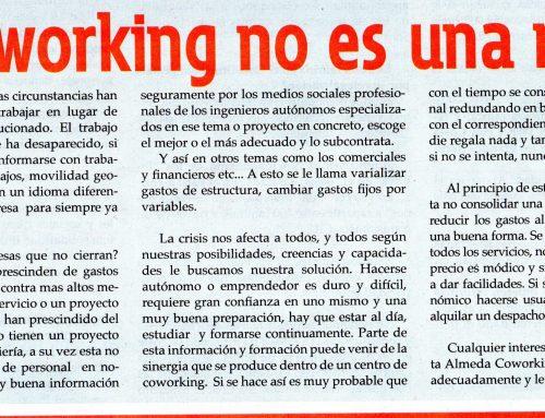 El Coworking no es una moda