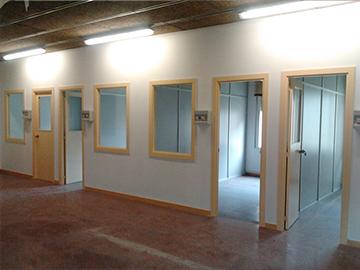 Instalación eléctrica protegida de Almeda CoWorking