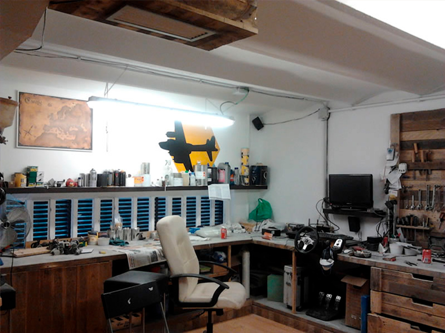 mini locales para pequeños talleres